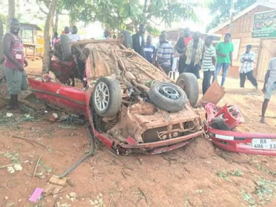 Graphic Photos: Four Final Year Nursing Students Killed In Fatal Auto Crash 15