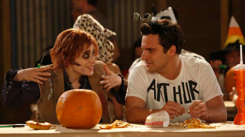 new-girl-halloween-episode-zombie-woody-allen