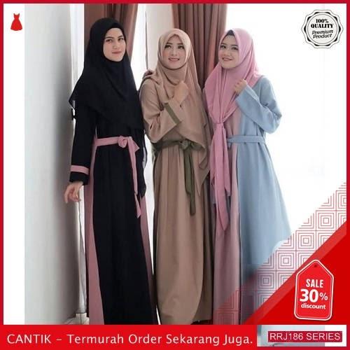 Jual RRJ186D79 Dress Muslim Hiosy Wanita Syari Sf Terbaru BMGShop