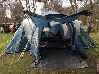 Tent at Haven's Wild Duck Park