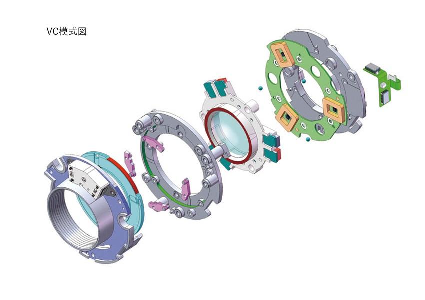 Внутреннее устройство объектива Tamron SP 70-300mm F/4-5.6 Di VC USD A030