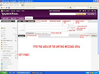 Learn the parts and how to compose message in Yahoomail