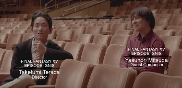 Entrevista con el compositor Yaunori Mitsuda, Final Fantasy XV: Episode Ignis