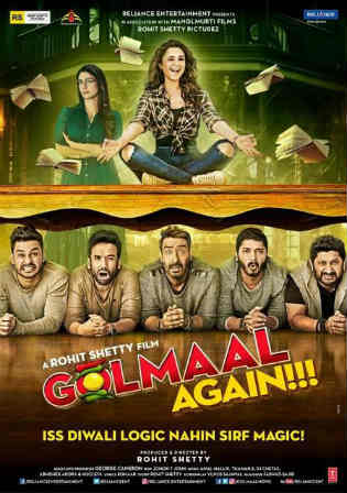 Golmaal Again (2017) DVDRip Hindi x264 Bolly4u torrent - Bollywood