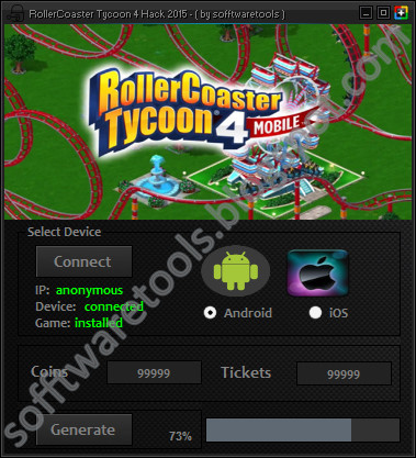 Roller Coaster Tycoon Hack: Software Free Download