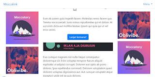 Download Template Safelink Blogger Responsive - NihLink