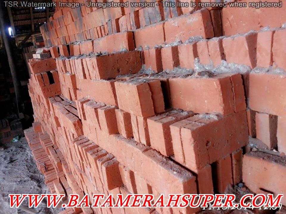 produsen dan supplier batu bata merah