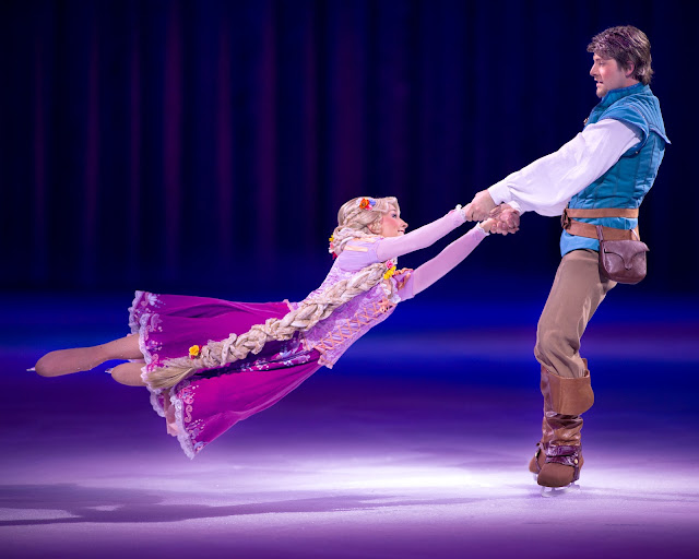 Disney on Ice presents Dream Big review - Tangled