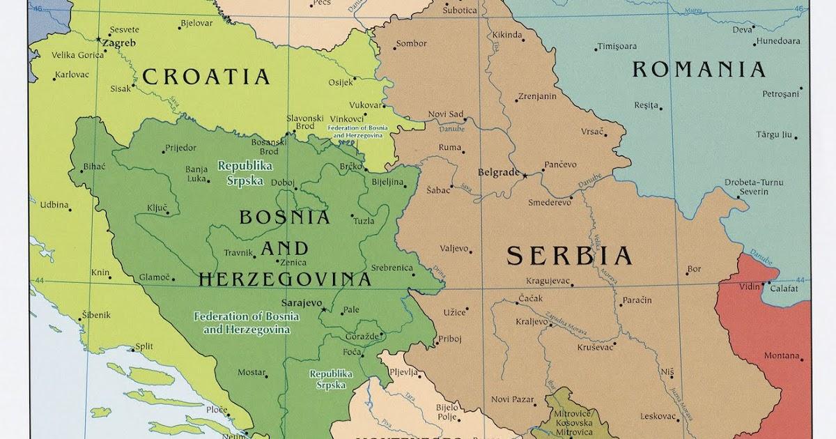 Kaart Topografie Zuid Europa Kaart Balkan Landen Topografie