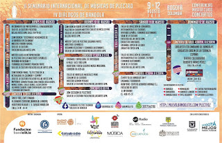 Programación II Seminario Internacional de Músicas de Plectro