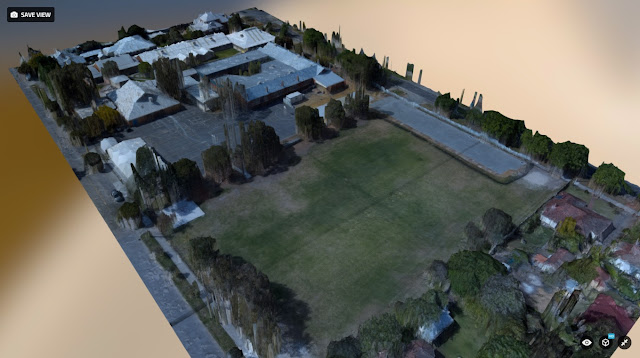 Small drone mapping