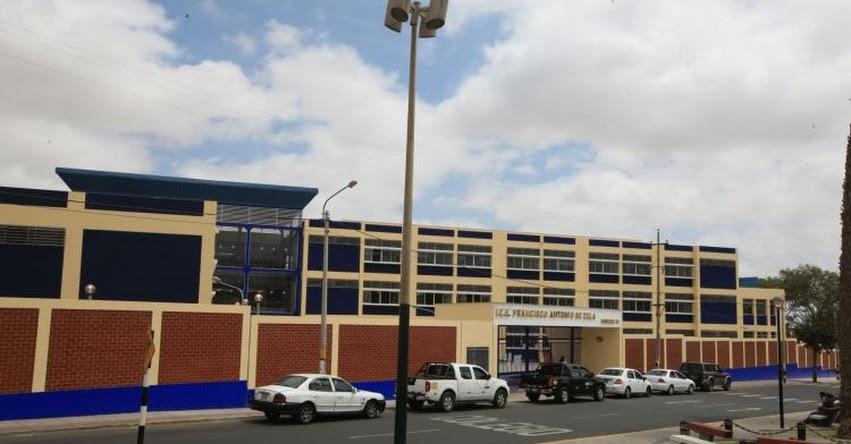 Colegio Francisco Antonio de Zela dará educación de calidad a unos 2 mil estudiantes de Tacna con nueva infraestructura