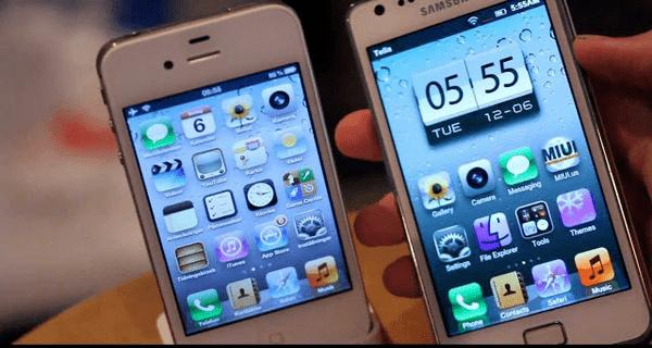 تطبيق لانشر تحويل الاندويد الى الايفون
