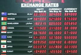 Currency exchange forex rates