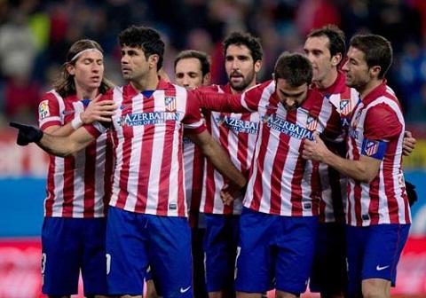 Trong khi đó, đội bóng Atletico lại không được thừa nhận tại Lễ trao giải.