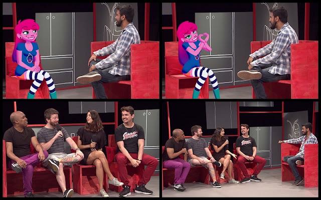 'Viralizando' da TV Brasil recebe Any Malu, a primeira youtuber em desenho animado do país