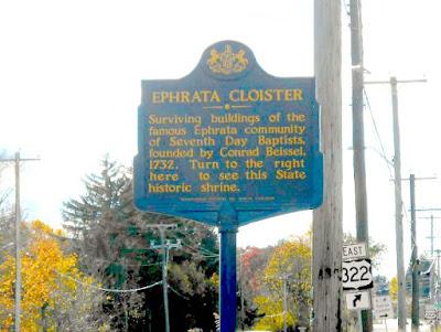 Historic Ephrata Cloister in Ephrata Pennsylvania
