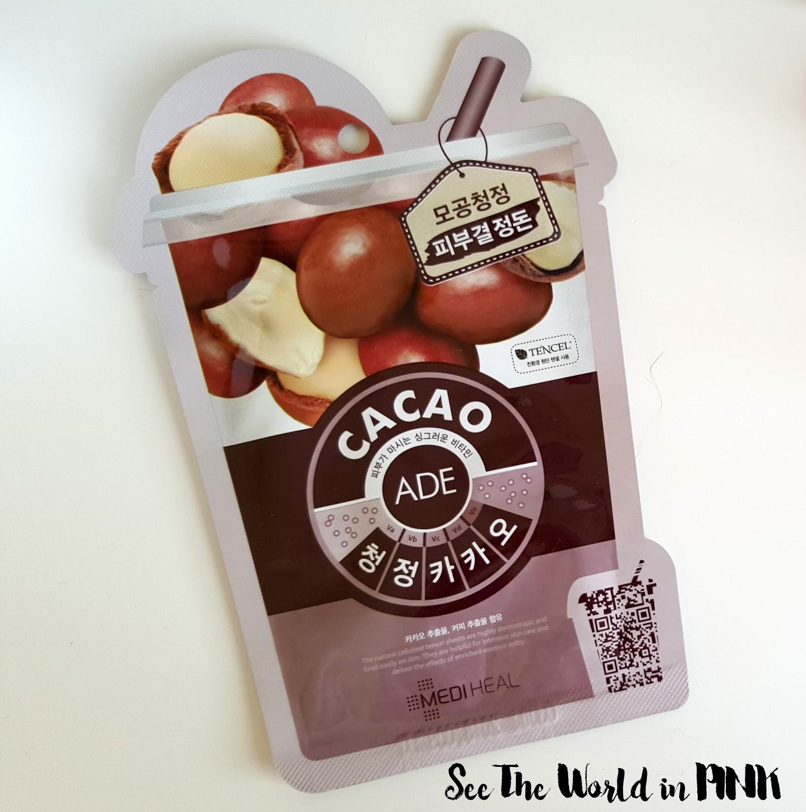 Beauty Clinic Mediheal Cacao (Cocoa) Ade Mask
