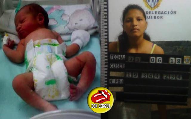 Parió a esta bebé y la lanzó en una alcantarilla para matarla