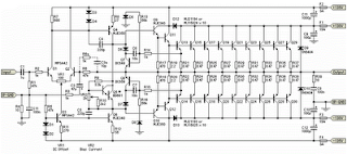1500W HiFi Power Amplifier Circuit