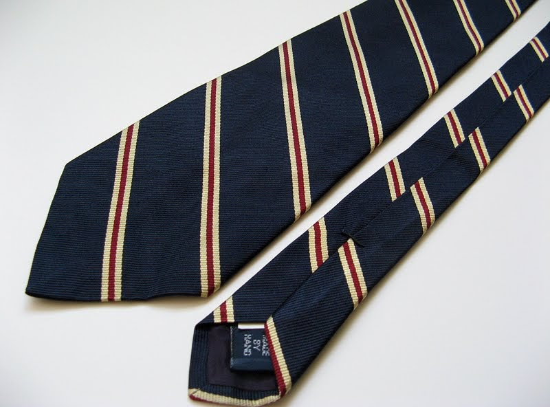 Good Closet: POLO RALPH LAUREN HAND SEWN SILK NECK TIE ...