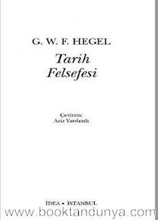 Georg Wilhelm Friedrich Hegel – Tarih Felsefesi