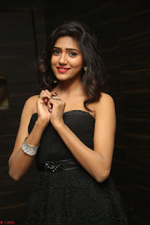 Shalu Chourasiya in spicy Sleeveless Strapless Black Top at O Pilla Nee Valla Movie Audio Launch Feb 2017 128.JPG