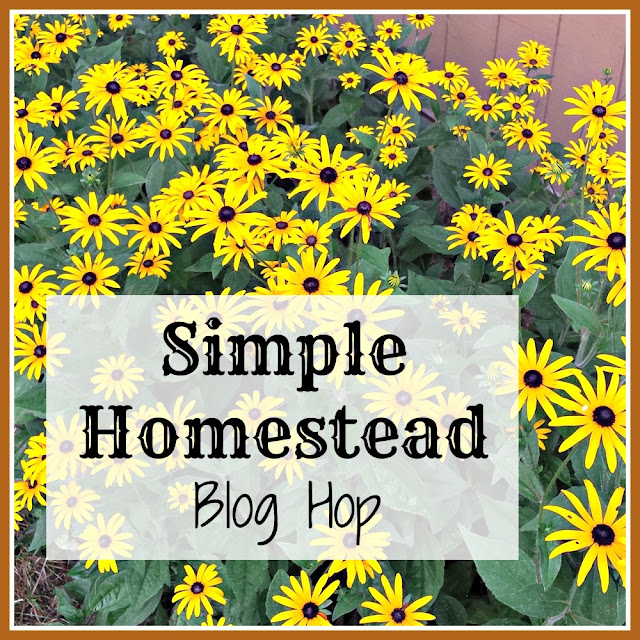 Join us every Thursday for the weekly Simple Homestead blog hop.