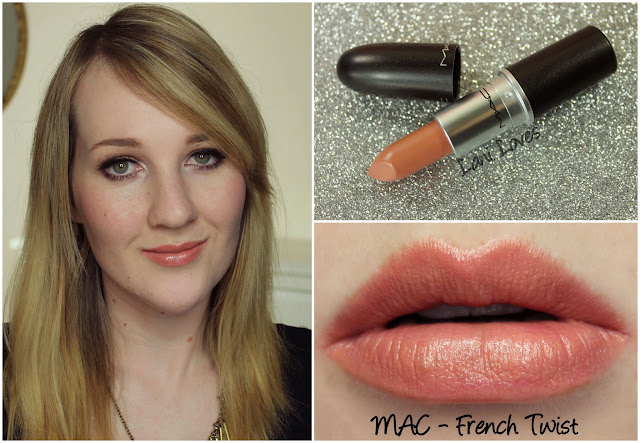 MAC French Twist lipstick swatch