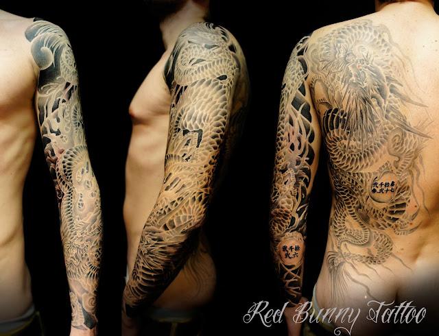 tattoo dragon タトゥー 龍 刺青