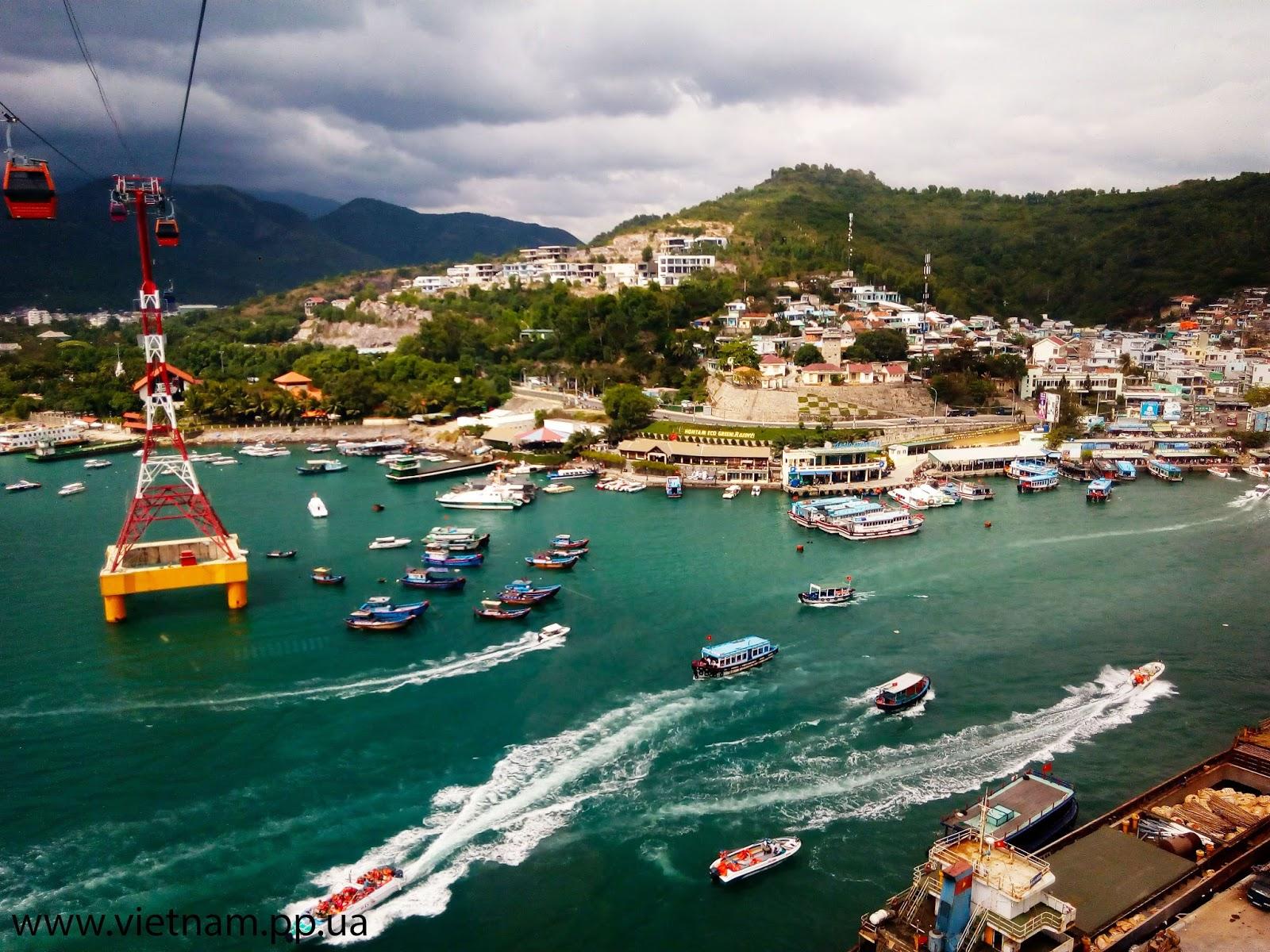 Вьетнам Нячанг остров развлечений