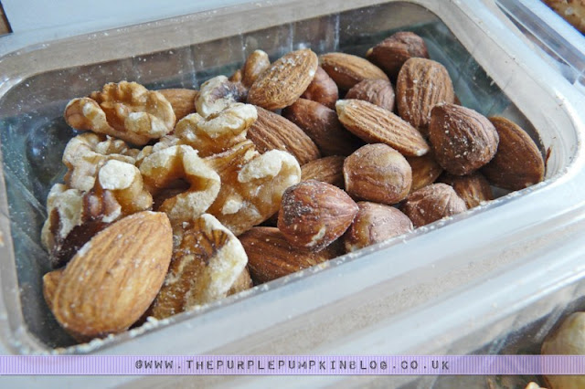 graze box - boost box review: ancient forest nuts