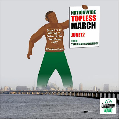 June 12 Nationwide Topless March