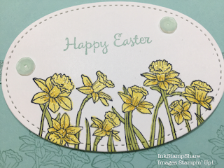 Daffodil stamp. Stampin Up
