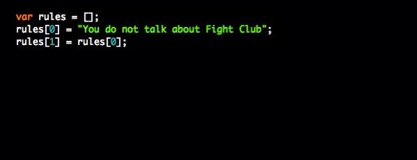 Fight Club. Movies {as code}