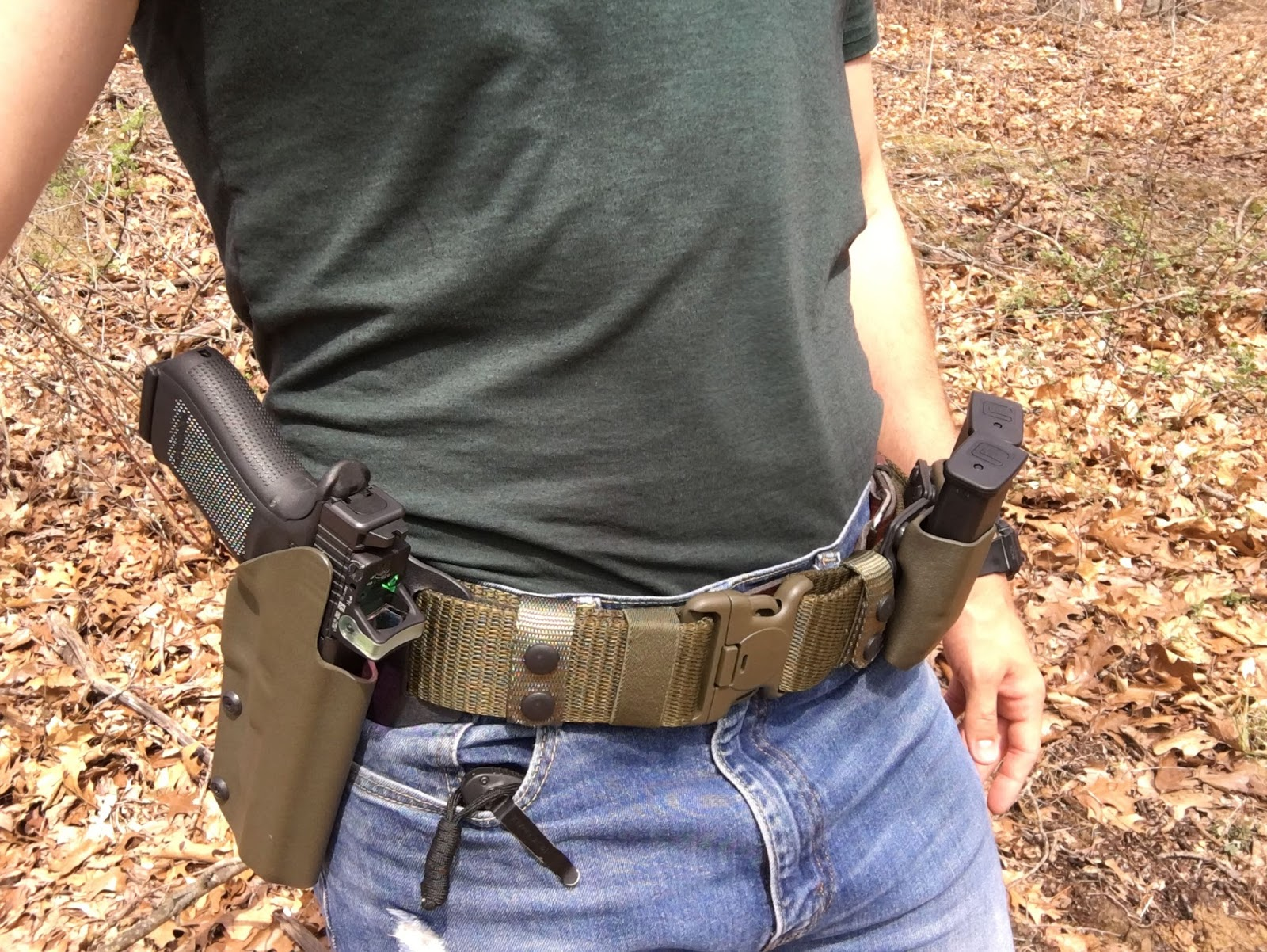 Od Green Glock 40 Mos Holster And Mag Carriers Dara Holsters Gear