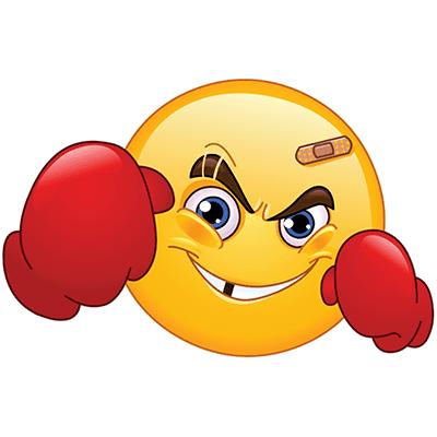 Boxer emoji