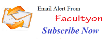 Free Job E-mail Alert - Faculty Teachers