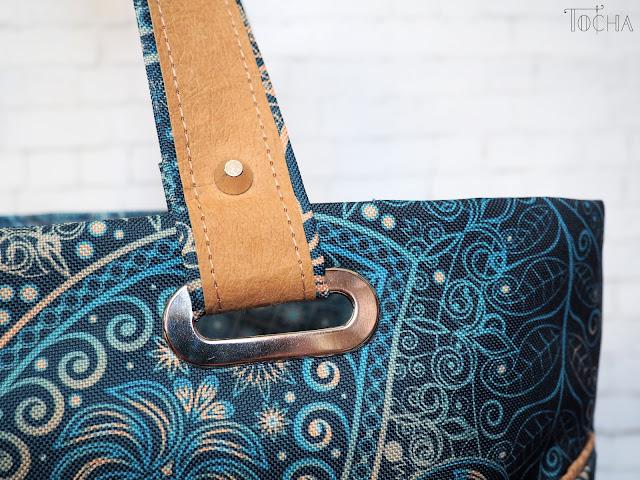 dresowka.pl, mehndi, waterproof, cork, korek, cork fabric, cork leather, Washpapa, turquoise, shoulder bag, oversized tote, washable paper, vegan leather, #innywymiarszycia