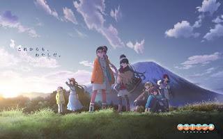 Heya Kyan△, anime-curto da série Laid-Back Camp, ganha previsão de estreia