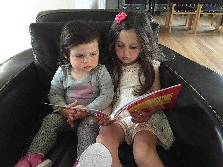 A Sweet Sibling Read Aloud