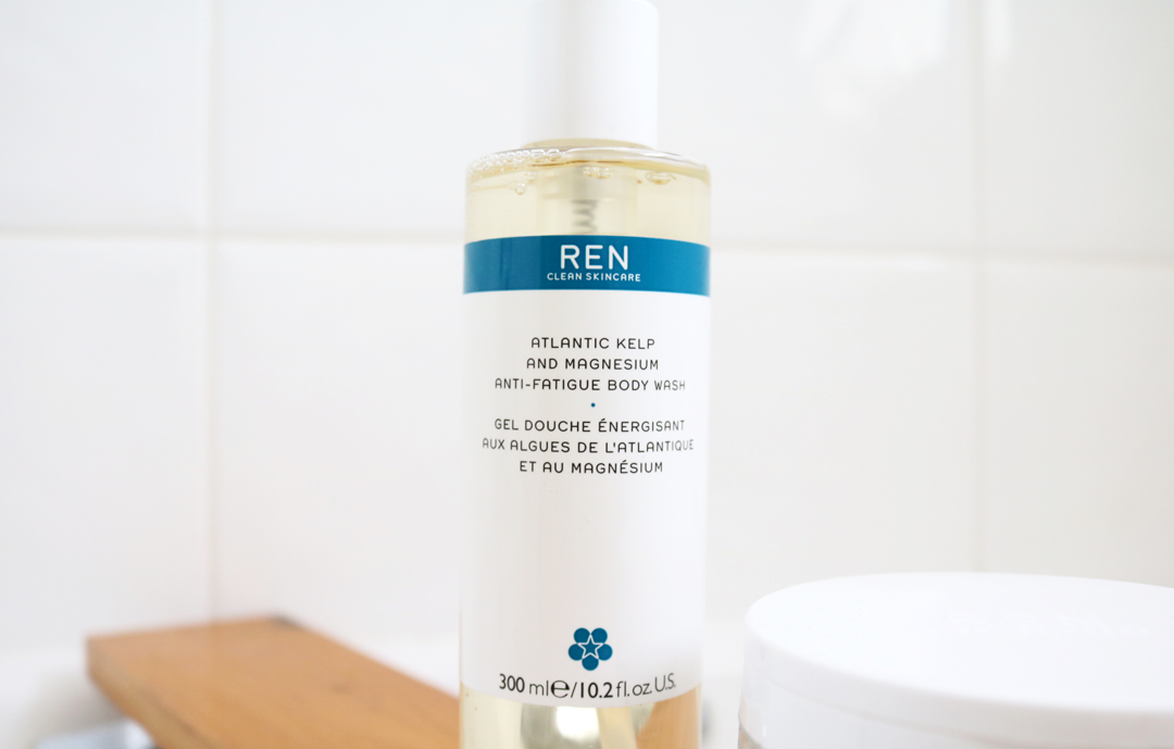 REN Atlantic Kelp and Magnesium Salt Anti-Fatigue Exfoliating Body Wash review
