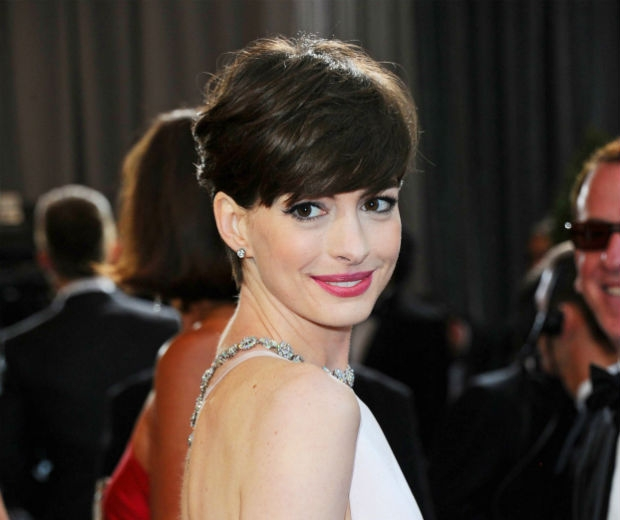 Anne Hathaway One Day: 100% Hair Extensions UK,Remy Hair Extensions: Anne