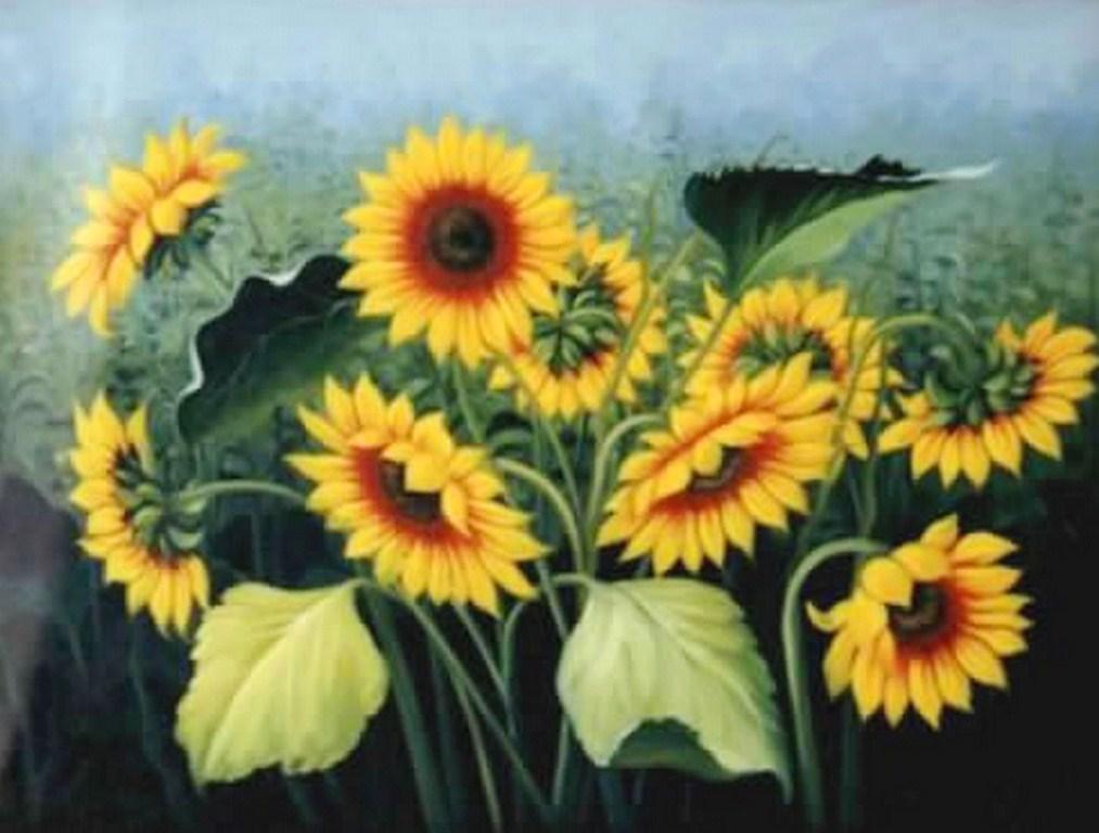 Cuadros pinturas arte cuadros de flores al oleo - Cuadros flores modernas ...