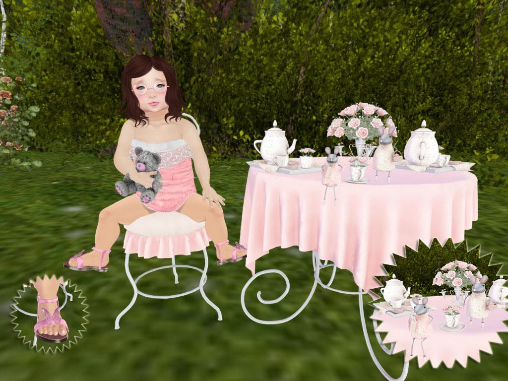 tea party time - photo #13