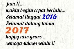 Kata Kata Ucapan Selamat Tahun Baru 2017|Sms Ucapan Selamat Tahun Baru 2017| Puisi Tahun Baru 2017| Dp BBM Tahun Baru 2017|Gambar Tahun Baru 2017