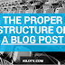 The Proper Structure of a Blog Post