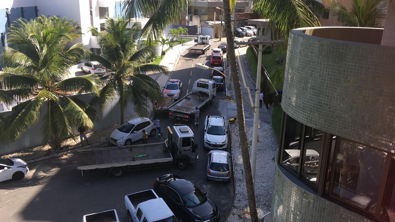Translavador intensifica fiscalização na Rua do Barro Vermelho
