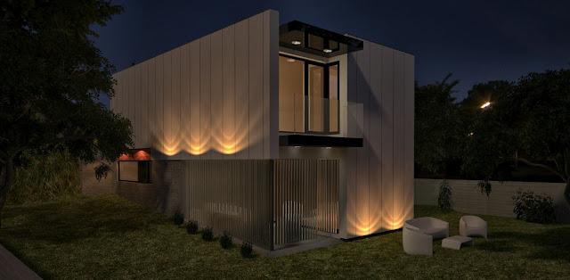 Proyecto de vivienda modular de Resan