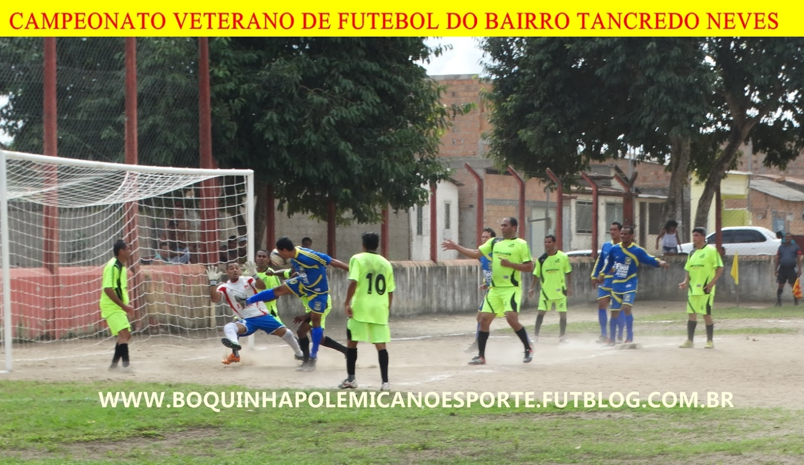 846eb778d7 Independente e Pai e Filho vence na estréia do 19º Campeonato Veterano de  Futebol do Bairro Tancredo Neves edição 2015.